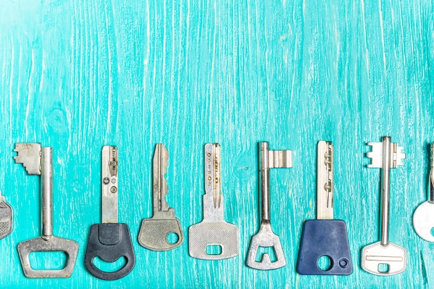 Anciennes clés