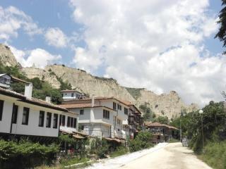 Les anciens tuyaux à melnik, bulgarie