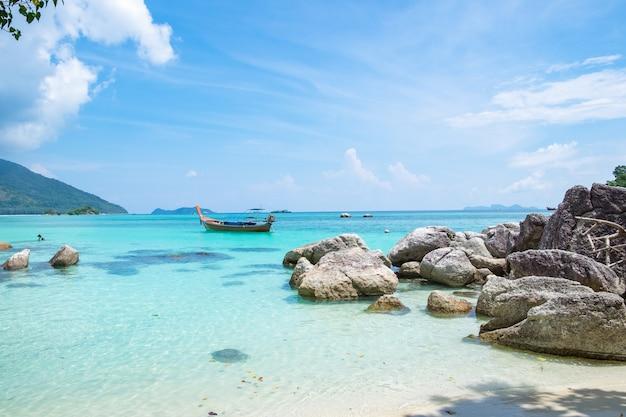 Andaman cristal plage de sable blanc