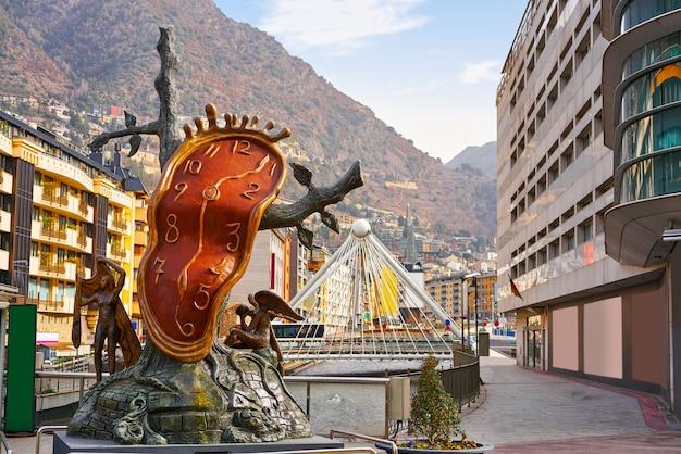 Andorre-la-vieille dali noblesse du temps