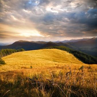 Andscape dans les montagnes