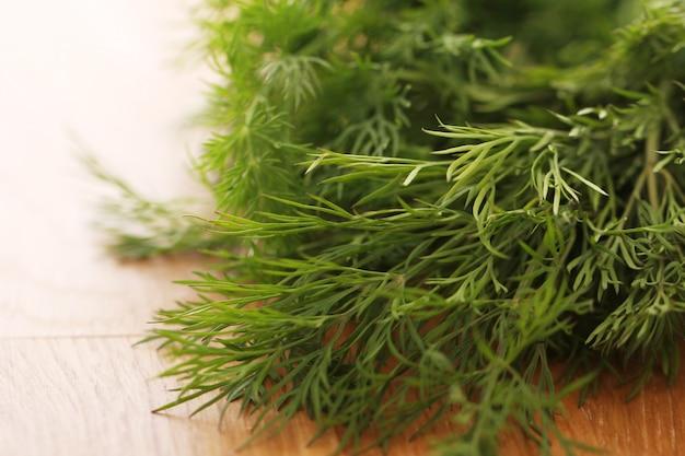 Aneth vert frais