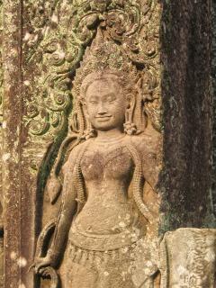 Angkor wat sculpture historique