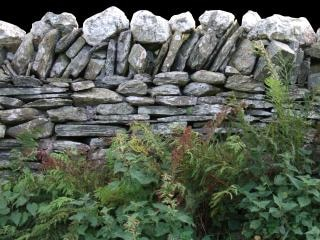 Anglais mur d'ardoise