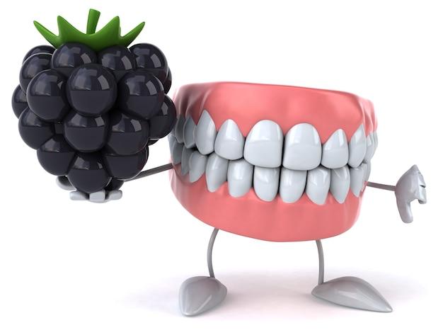 Animation amusante sur les dents