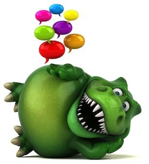 Animation amusante de dinosaures
