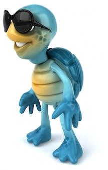 Animation amusante sur les tortues