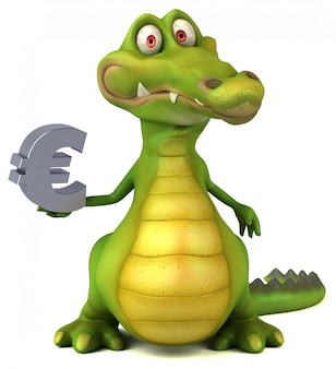 Animation de crocodile