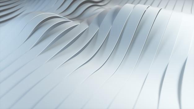 Animation de dégradé de vagues colorées