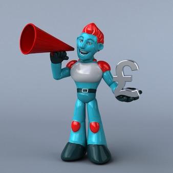 Animation du robot rouge