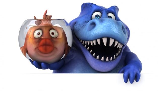 Animation fun trex