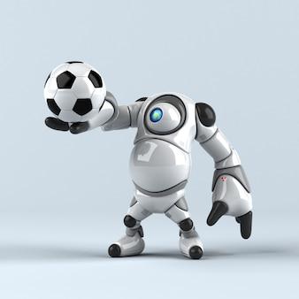 Animation de gros robot
