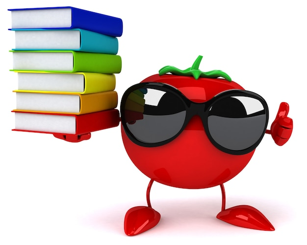 Animation de tomates amusante