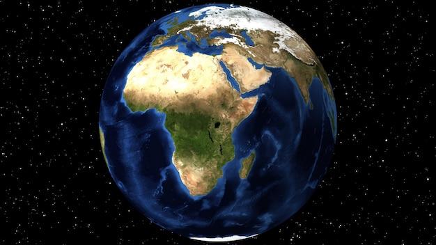 Animation utilisant l'imagerie satellite (nasa).