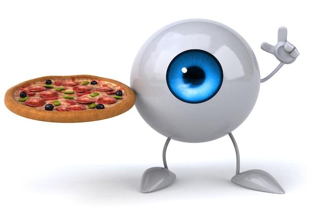 Animation des yeux amusante