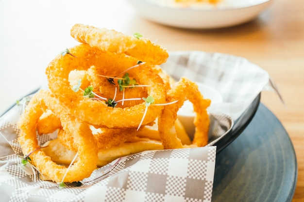 Anneau de calamars frits