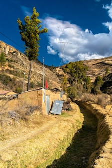 Antacocha village péruvien typique dans les andes
