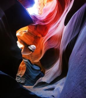 Antelope canyon près de page, arizona