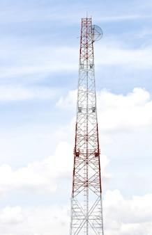 Antenne radio de télécommunication tour