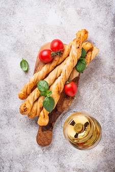 Antipasti italien à la tomate