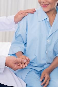 Apaiser un patient
