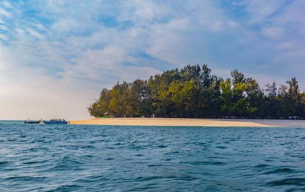 Aperçu de koh poda et des îles voisines