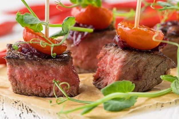 Apéritif party event food, concept de restauration
