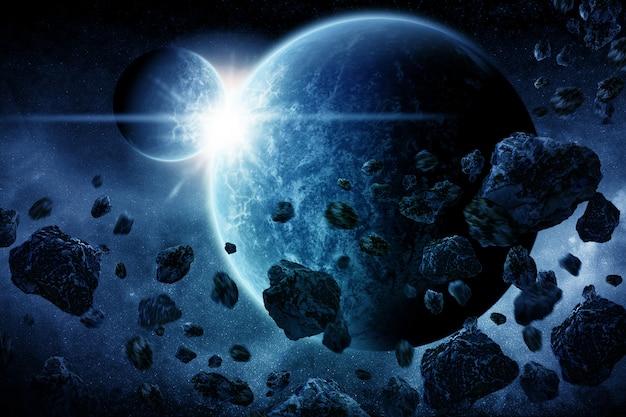 Apocalypse explosion de la planète