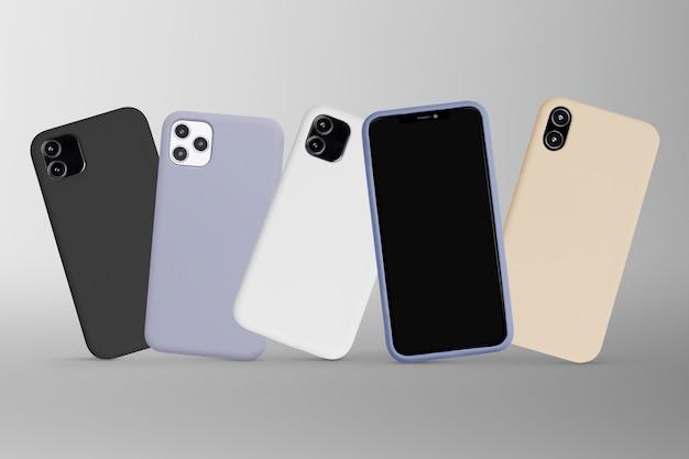 Appareil numérique de maquette d'écran de téléphone portable