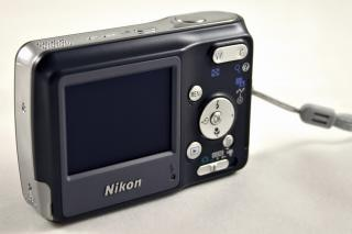 Appareil photo numérique nikon, des boutons