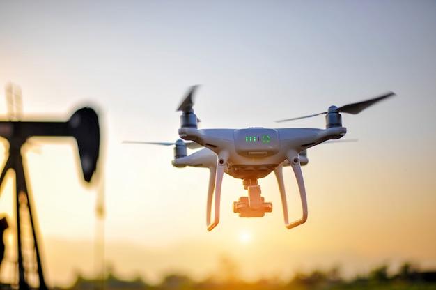 Appareil de photographie aérienne par drones