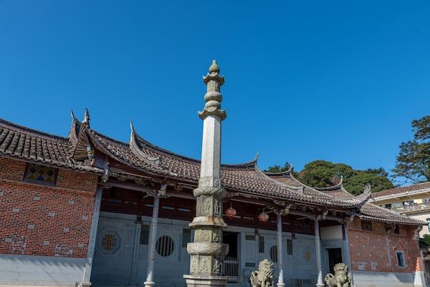 L'apparence générale des temples bouddhistes traditionnels chinois