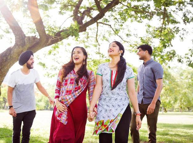 Appartenance indienne amitié