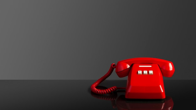 Appel d'urgence au téléphone