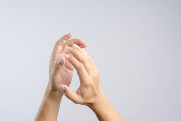 Applaudissements, signe main