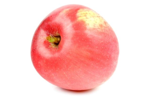 Apple sur un blanc