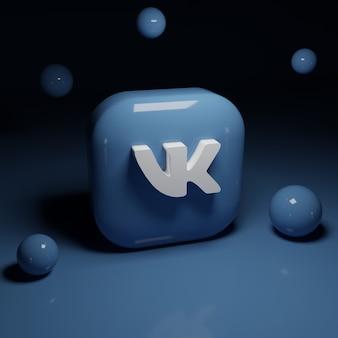 Application de logo 3d vk