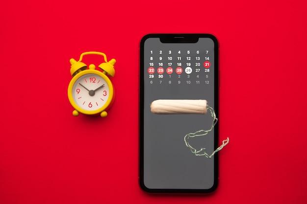 Application mobile pour suivre votre cycle menstruel et pour les marques.