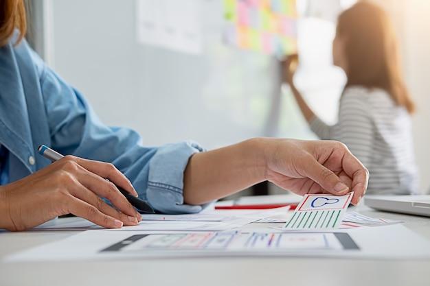 Application de planification creative web designer et développement d'un cadre de présentation de modèles