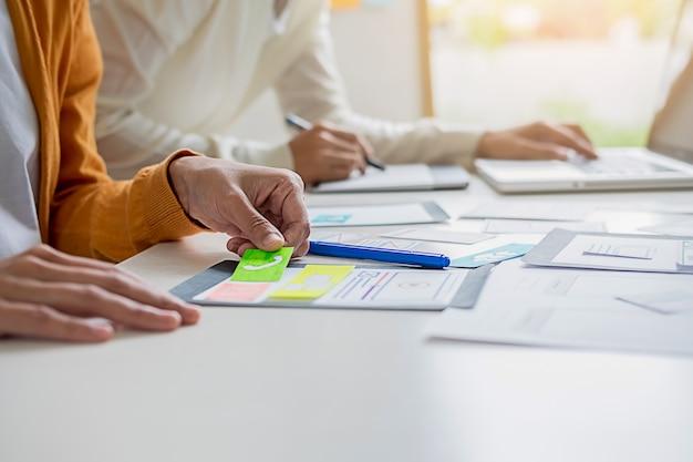 Application de planification creative web designer et mise en forme de modèles.