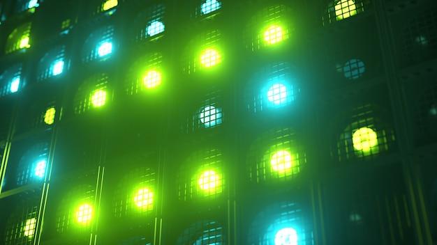 Appliques murales clignotantes. lampes clignotantes lanternes pour clubs et discothèques. lampe halogène de boîte de nuit.