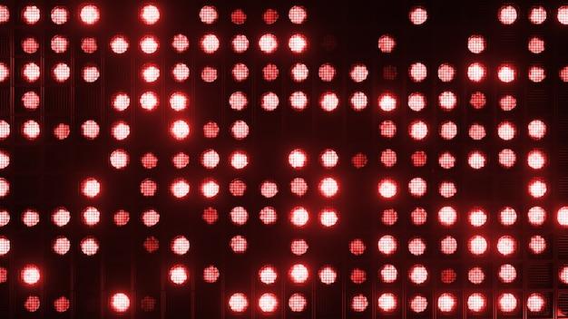 Appliques murales clignotantes. lampes clignotantes lanternes pour clubs et discothèques. phares à faisceau matriciel. lampe halogène de boîte de nuit.