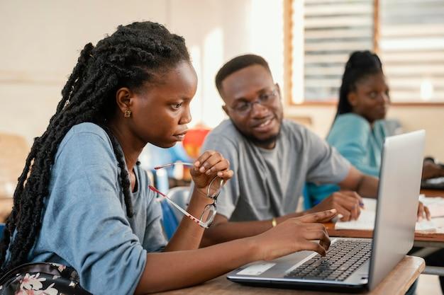 Apprentissage des élèves de plan moyen
