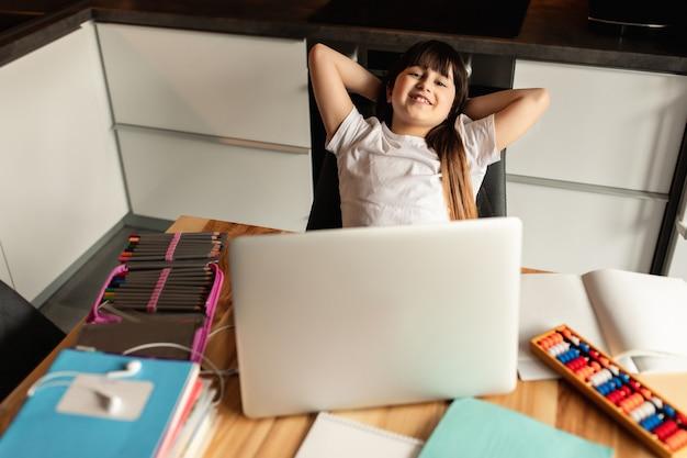 L'apprentissage en ligne à domicile