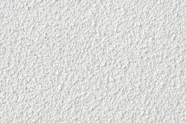 Apprêt mural en béton blanc