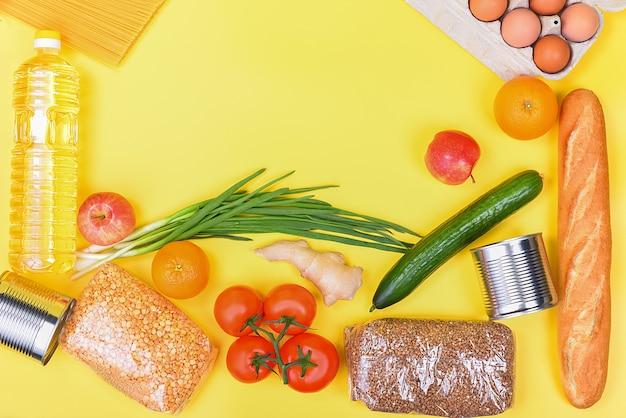Approvisionnement alimentaire, copyspace