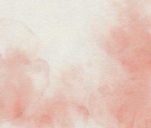 Aquarelle abstrait rose tendre