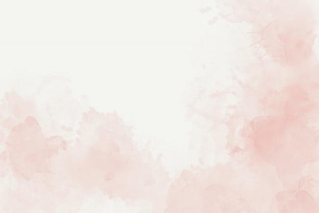 Aquarelle abstrait rose tendre