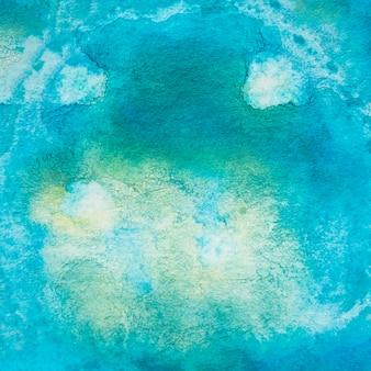 Aquarelle abstraite bleue fond texturé