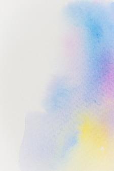 Aquarelle abstraite à la main